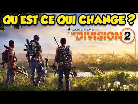 QU'EST CE QUI CHANGE VRAIMENT ? (The division 2)