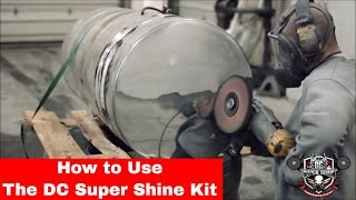 How to polish Aluminum using the DC Super Shine Heavy cut kit.