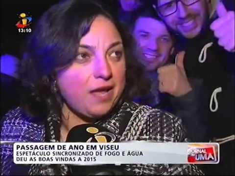 Passagem de ano 2015 de Viseu na TVI