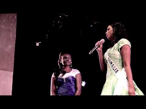 MAU12 - Yasmine, Miss Somalia
