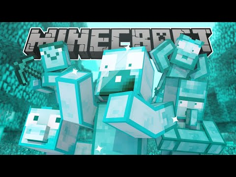 If Everything Was Changed To Diamond - Minecraft Animation