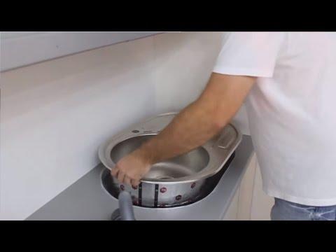 Как самому сделать вырез в мойке