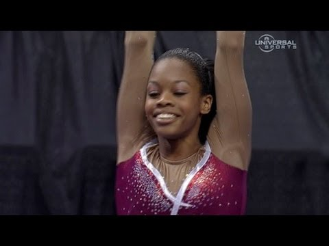 Gabrielle Douglas ties for Championship lead - night 1