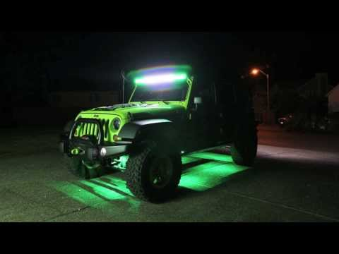2013 Jeep Wrangler Unlimited Rubicon Build - Bruce Banner