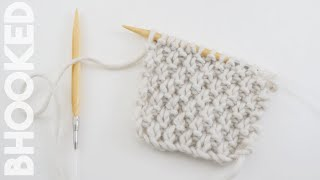 How to Knit (Double) Moss Stitch