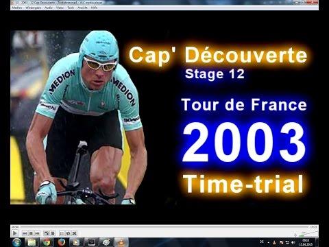 Jan Ullrich ► TdF 2003 ► Stage 12 ► Cap' Découverte (Zeitfahren) [18.07.2003]