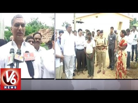 Minister Harish Rao Inspects Arrangements In Malkapur | KCR To Launch Kanti Velugu Scheme | V6 News