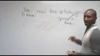 English Grammar - Past Simple & Present Perfect