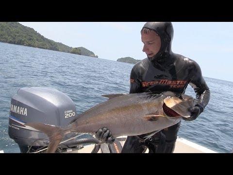 Подводная Охота в Панаме. Взял Первый Трофей на 10 кг