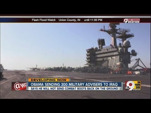 Obama sending 300 military advisors to Iraq