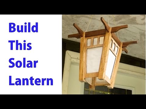 Wooden Japanese Lantern Plans