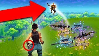 KNOCKING PEOPLE OFF CLIFFS WITH THE IMPULSE GRENADE! | Fortnite Battle Royale