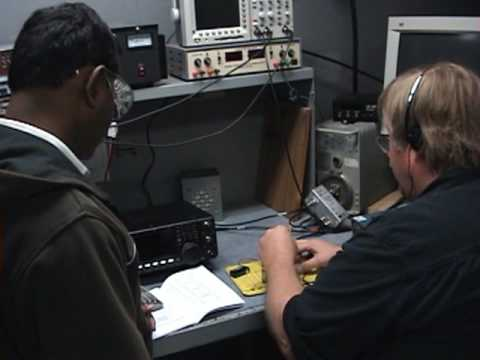 USTTI Students at ARRL - 2009