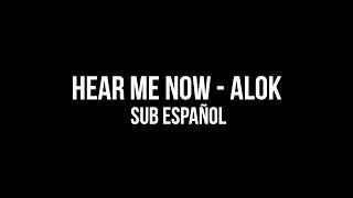 Ouça ► Hear Me Now - Alok & Bruno Martini Sub Español