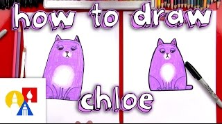 How To Draw Chloe From The Secret Life Of Pets + Giveaway!