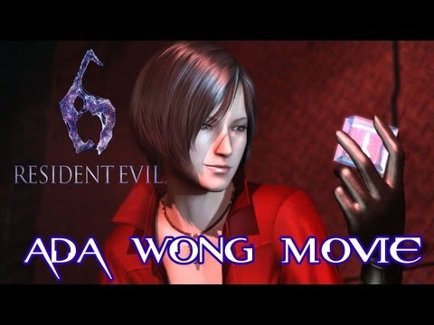 Resident Evil 6 'All Ada Wong Cutscenes Movie' TRUE-HD QUALITY