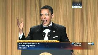C-SPAN: President Obama at the 2012 White House Correspondents