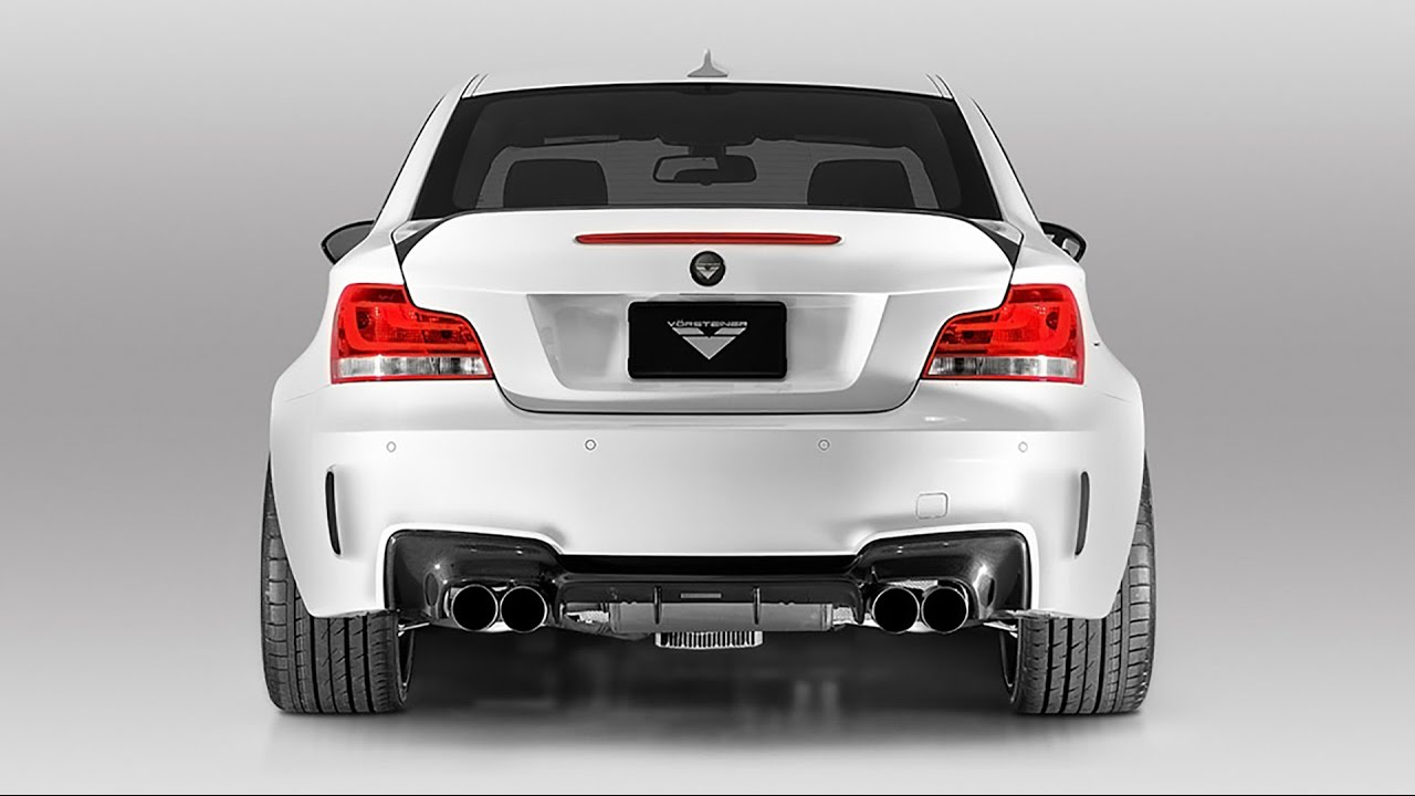 Vorsteiner Stainless Steel Sport Exhaust For The E82 1m