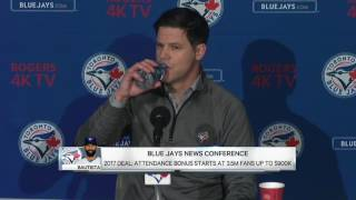 Atkins: Bautista's desire to be here abundantly clear