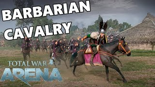 Total War ARENA - Barbarian Cavalry Engage Warp Drive!