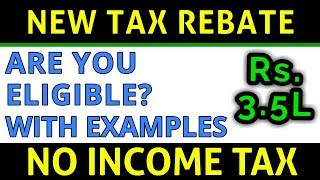 New TAX REBATE Eligibility Examples FY 2018-19 | Are You Eligible to Save Income Tax? | FinCalC TV