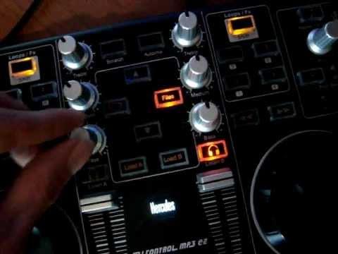 Как сводят треки на контроллерах