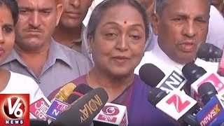 Meira Kumar Congratulates President-elect Ramnath Kovind | Delhi