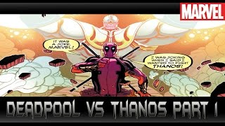 DeadpoolปะทะThanos[Deadpool vs Thanos Part 1]comic world daily