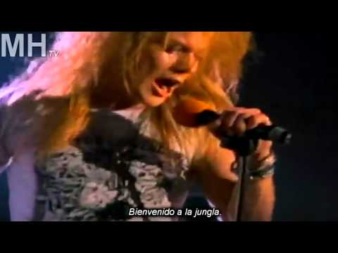 Guns n' Roses - Welcome to the jungle (subtitulado)
