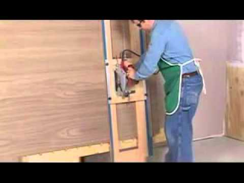 youtube - panel para cortes de carpinteria - panel for cutting carpentry