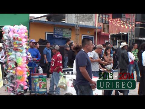 Urireo, Guanajuato, Mexico --- Recorrido de la fiesta del 6 de Enero 2014.