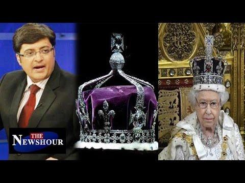 Queen Elizabeth Should Return Kohinoor Diamond To India : The Newshour Debate (21st April 2016)