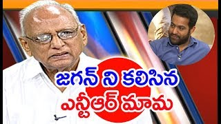 NTR's Father in Law Narne Srinivasa Rao Met YS Jagan  At Lotus Pond | IVR Analysis