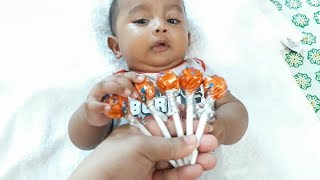 Lollipop with Finger Family song with Five months baby || Hriddo Tube
