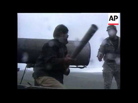 Azerbaijan - Artillery Attack By Armenian Forces