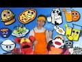 Food Song | Learn 15 Food and Drinks | Learn English Kids