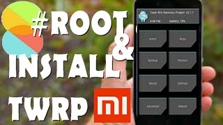 How to root & Install TWRP on Redmi Note (Works on MIUI 8 also)