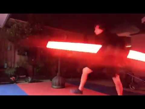 Ray Park with Makoto V3 saber~