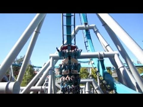 Dragon Challenge: Chinese Fireball Front Seat on-ride HD POV Universal Studios Islands of Adventure
