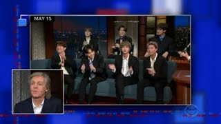 "Beatles' Paul McCartney reacts to BTS partly singing ""Hey Jude"""