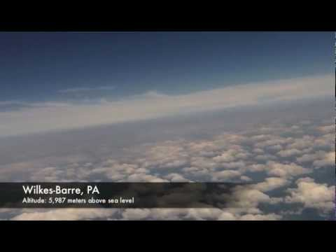 Fourth of July 2012 Aerial Photography Weather Balloon