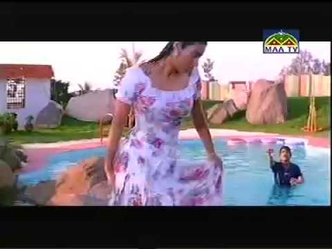Bollywood Actress Tabu Wet In Pool In A Telugu Movie With Nagarjuna video