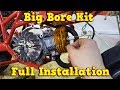 Big Bore Kit Installation Instructions - 49cc Pocket Bike Engine