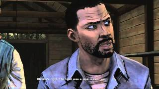 The Walking Dead Game - Ben Stands up to Kenny