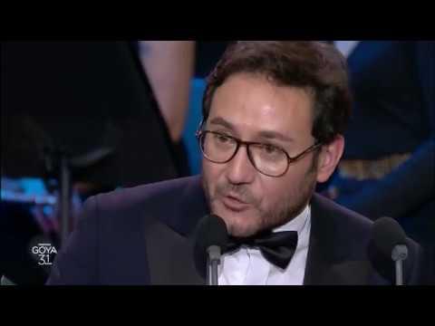 Carlos Santos, Mejor Actor Revelación en los Goya 2017