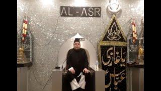 Majlis Ashra 1442 AH - First Majlis by Moulana Sadiq Hasan Saheb