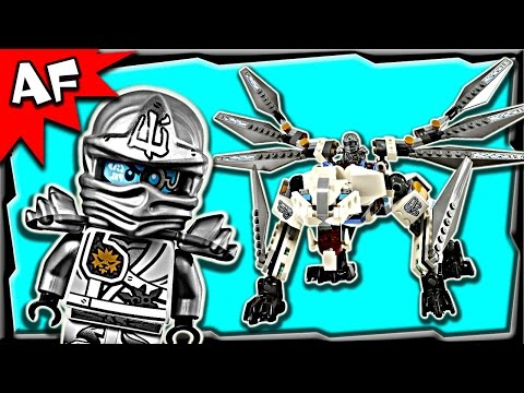 Lego Ninjago Zane's TITANIUM DRAGON 70748 Stop Motion Build Review
