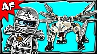 Lego Ninjago Zane's TITANIUM DRAGON 70748 Anacondrai Jungle Stop Motion Build Review