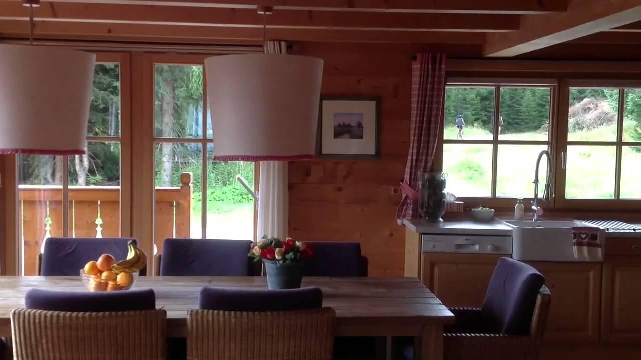 Luxe chalets oostenrijk xieje interieur zomer youtube for Interieur chalet
