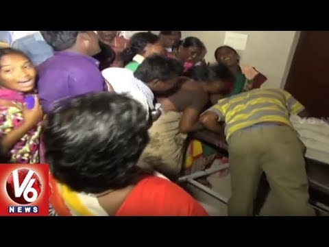 Brothers Dies Of Electrocution In Rahmat Nagar | Nalgonda | V6 News